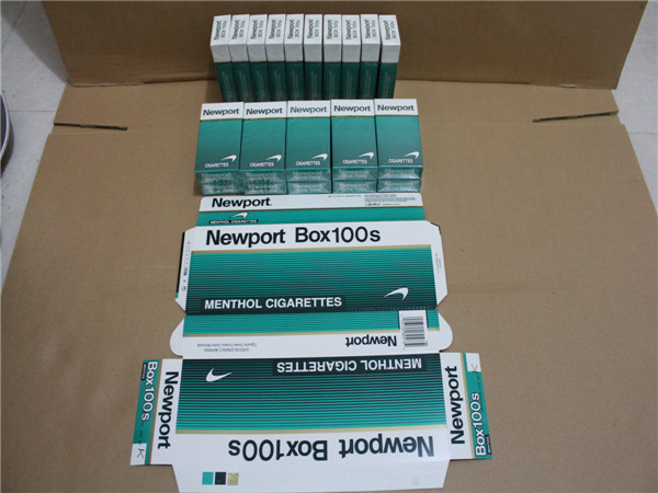 Popular 40 Cartons 100s Newport Cigarettes Website Hot Sale